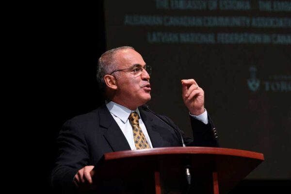 Garry Kasparov, keynote speech at MRP 80/Black Ribbon Day Conference 2019